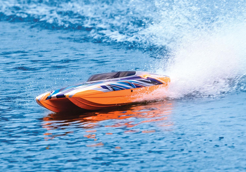 Traxxas M41 Widebody Catamaran Raceboat TQi + TSM