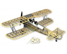 Guillow`s Stearman PT-17 WW2 Pilot Trainer Balsa KIT (71cm Spanw.)
