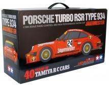 Tamiya 1:10 Porsche RSR Type 934 Jagermeister TA02SW 40 Years of Tamiya RC Cars
