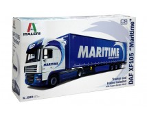 Italeri 1:24 DAF XF105 + Trailer Maritime Transport