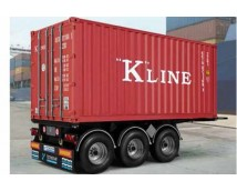 Italeri 1:24 Tecnokar 20 Foot Container Trailer