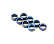 Traxxas Spacer Pushrod (E-Revo) Blue 8pcs.