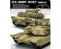Academy 1:35 US Army M1A2 TUSK 2