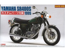 Aoshima 1:12 Yamaha SR400S 1995 with custom parts