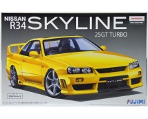 Fujimi 1:24 Nissan R34 Skyline 25GT Turbo Full Aero