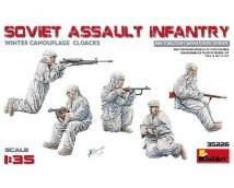MiniArt 1:35 Soviet Assault Infantry Winter Camo WWII
