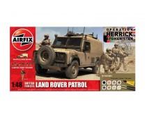Airfix 1:48 British Land Rover PAtrol Operation Herrick Afghanistan (incl. lijm en verf)    A50121