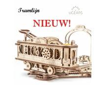 UGears Tramlijn <Mechanical Town>
