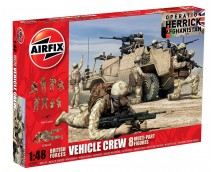 Airfix British Vehicle Crew 1:48    A03702