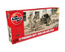 Airfix 17 Pounder Anti Tank Gun and Crew 1:32 AF06361