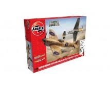 Airfix Spitfire Mk.Vb + Messerschmidt Bf109E MODEL SET incl lijm en verf 1:48   A50160