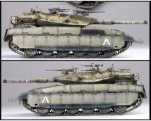 Academy 1:35 Merkava Mk.IID