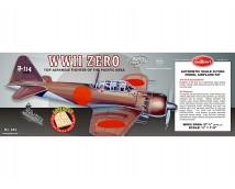 Guillows WWII Japanese ZERO Fighter HOUTEN VLIEGTUIG KIT 70,49cm Spanwijdte