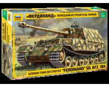 Zvezda 1:35 German Tank Destroyer FERDINAND Sd. Kfz. 184