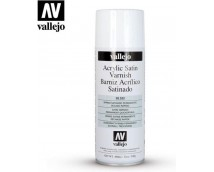 Vallejo Zijdeglans Blanke Lak Spuitbus Acryl 400ml