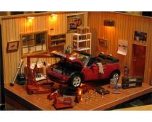 Fujimi 1:24 Antique Garage