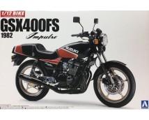 Aoshima 1:12 Suzuki GSX400FS Impulse 1982