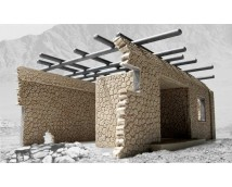 Airfix 1:48 Afghan Single Storey House    A75010