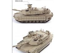Academy 1:35 US Army M1A2 V2 TUSK II