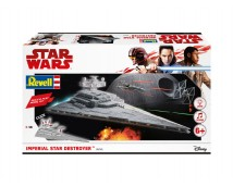 Revell Star Wars Imperial Star Destroyer Build and Play Kit (Light and Sound)