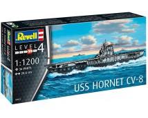Revell 1:1200 USS Hornet CV-8 MODEL SET