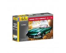 Heller 1:24 Jaguar E-Type Cabriolet