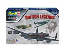 Revell 1:72 British Aviation Legends Gift Set (1918 - 2018)
