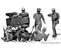 """Master Box 1:35 """"Accident"""" Soviet and German Military Men Summer 1941"""