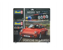 Revell 1:24 Porsche 911 Turbo MODEL SET