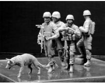 Master Box 1:35 Modern US Infantrymen Cordon and Search