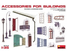 Mini Art 1:35 Accessoires For Buildings