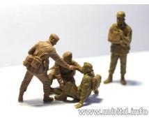 Master Box 1:35 British Paratroopers Rigid Landing - Market Garden 1944