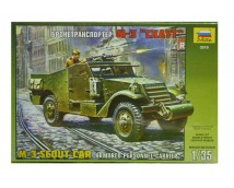 Zvezda 1:35 M-3 Scout Car Armored Personnel Carrier