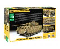 Zvezda 1:35 German Medium Tank Panzer IV Ausf. H