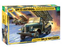Zvezda 1:35 BM-13 Katyusha - Stalin Orgel