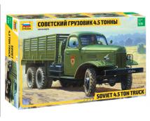 Zvezda 1:35 Soviet 4.5 Ton Truck