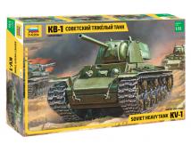 Zvezda 1:35 KV-1 Soviet Heavy Tank        3539