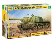 Zvezda 1:35 ISU-152 Soviet Tank Destroyer