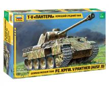 Zvezda 1:35 German Panther Ausf.D