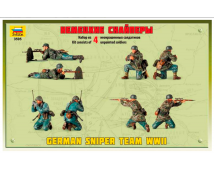 Zvezda 1:35 German Sniper Team WWII