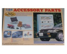 Fujimi 1:24 Accessory Parts, Vending Machine etc.