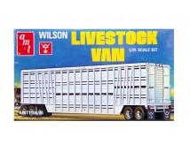 AMT 1:25 Wilson Livestock Van Trailer      AMT1106/06