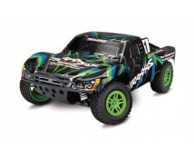 Traxxas Slash 4X4 Short Course Truck XL-5 Brushed Editie (inclusief accu en lader)