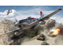 Airfix 1:48 North American F-51D Mustang    A05136
