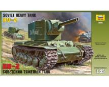 Zvezda 1:35 Soviet Heavy Tank KV-2     3608