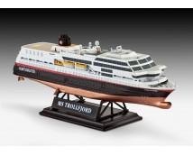 Revell 1:1200 125 Years Hurtigruten Giftset MS Trollfjord + MS Midnatsol