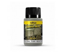 Vallejo Industrial Splash Mud Weathering Effects 40ml     73803