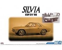 Aoshima 1:24 Nissan Silvia 1966