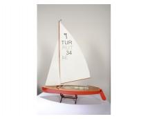 "Turk Model 1/10 ""Pirat"" Sailing class"