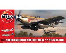 Airfix 1:48 North American Mustang Mk.IV / P-51K Mustang    A05137